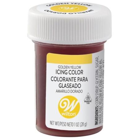 Barwnik w żelu Wilton Golden Yellow, Złocisty Żółty 28 g