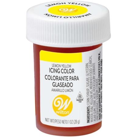 Barwnik w żelu Wilton Lemon Yellow, Żółty Cytrynowy 28 g