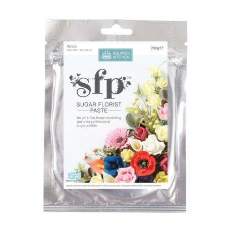 Masa cukrowa do kwiatów Squires Kitchen - Biały (200g)