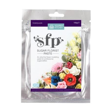 Masa cukrowa do kwiatów Squires Kitchen - Fioletowy (100g)