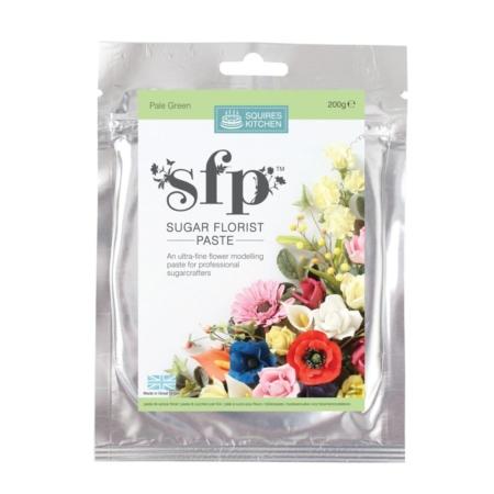Masa cukrowa do kwiatów Squires Kitchen - Jasnozielona (200g)