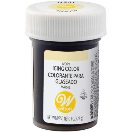 Barwnik spożywczy w żelu Wilton w kolorze Ivory, Kość Słoniowa 28 g