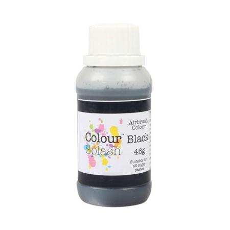 Barwnik do areografu Colour Splash Colours - Czarny (45g)