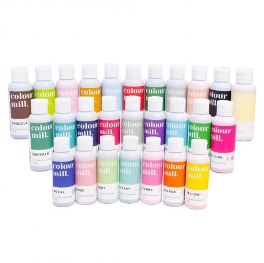 Jadalne barwniki olejowe Color Mill