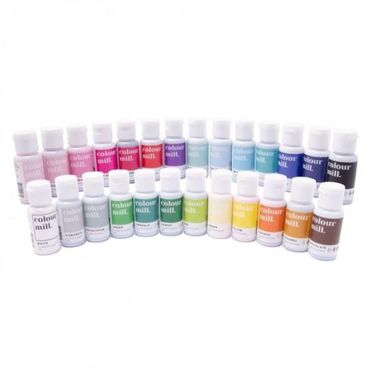 Jadalne barwniki olejowe Color Mill I