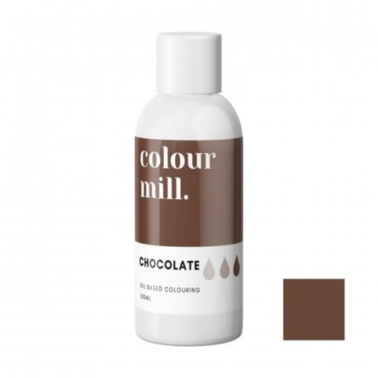 Jadalny barwnik olejowy Colour Mill - Chocolate 100 ml