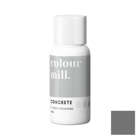 Jadalny barwnik olejowy Colour Mill - Concrete 20 ml