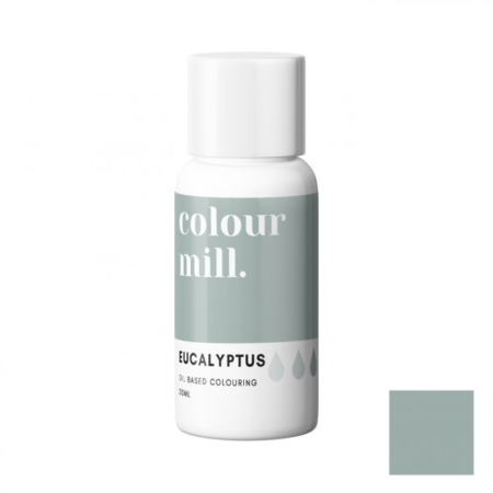 Jadalny barwnik olejowy Colour Mill - Eucalyptus 20 ml