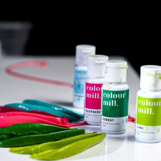 Jadalny barwnik olejowy Colour Mill - Raspberry 20 ml