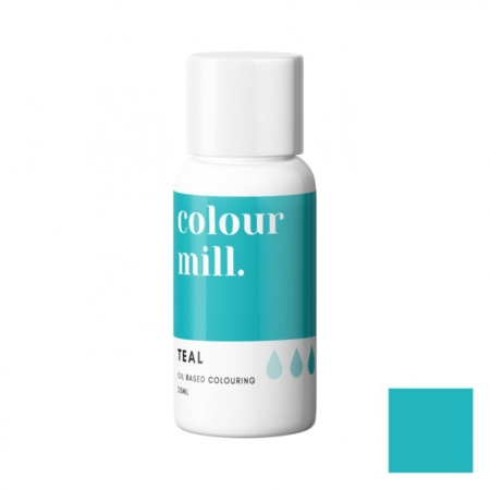 Jadalny barwnik olejowy Colour Mill - Teal 20 ml