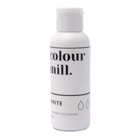 Jadalny barwnik olejowy Colour Mill - White 100 ml