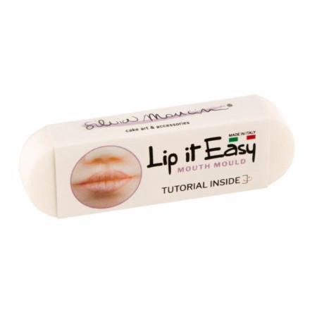 Lip It Easy by Silvia Mancini – narzędzie do łatwego i szybkiego tworzenia ust figurek z masy cukrowej