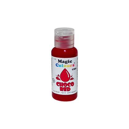 Barwnik do Czekolady w żelu -Magic Colours - Choco Red, Czerwony (32g)