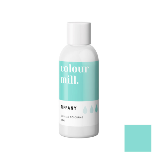 Jadalny barwnik olejowy do mas tłustych Colour Mill - Tiffany 100 ml
