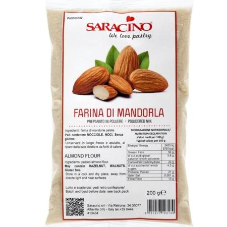 Mąka Migdałowa - 200 g - Saracino