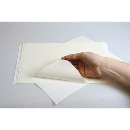 Gładki Papier cukrowy do druku na drukarce spożywczej A4 biały, 100 % jadalny - zestaw 20 szt. - Culpitt