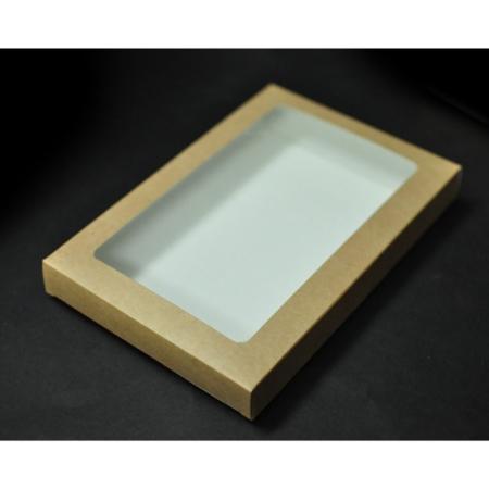 Pudełko na pierniczki z okienkiem - EKO - 15x21x2 cm