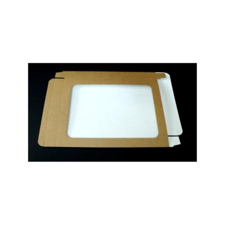Pudełko na pierniczki z okienkiem - EKO - 25x17x2 cm