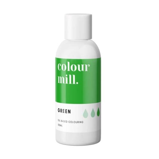 Jadalny barwnik olejowy Colour Mill - Green 100 ml