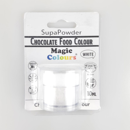 Barwnik w proszku do Czekolady Choco Powder Magic Colours - White, Biały (10 ml)