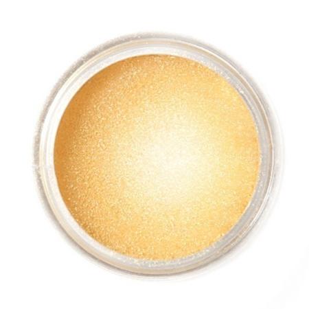 Barwnik spożywczy w proszku Fractal - Golden Shine/ Złoty (3,5 g)