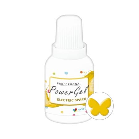 Barwnik w żelu Power Gel - Electric Spark - Żółty Słoneczny 20 g