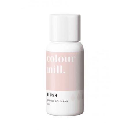 Jadalny barwnik olejowy do mas tłustych Colour Mill - Blush, Rumieńce 20 ml
