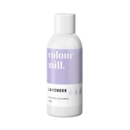 Jadalny barwnik olejowy do mas tłustych Colour Mill - Lavender, Lawendowy 100 ml