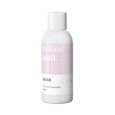 Jadalny barwnik olejowy do mas tłustych Colour Mill - Lilac, Liliowy 100 ml