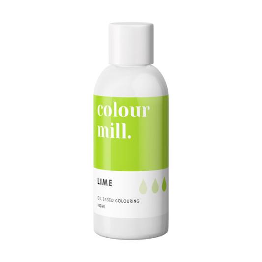 Jadalny barwnik olejowy do mas tłustych Colour Mill - Lime 100 ml