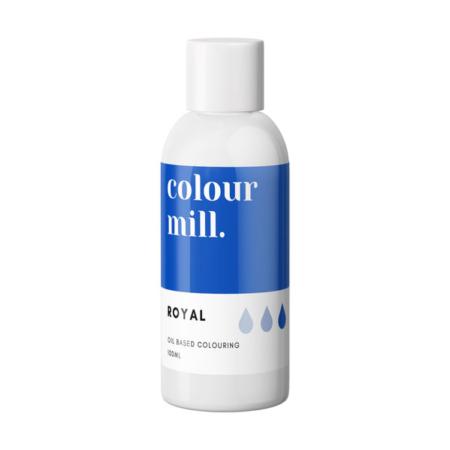 Jadalny barwnik olejowy do mas tłustych Colour Mill - Royal 100 ml