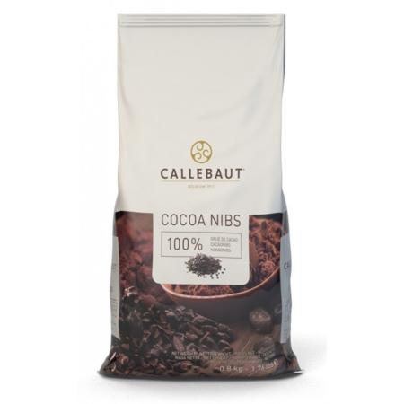 Nibs Prażone kruszone ziarno kakaowe - 800 g - Barry Callebaut