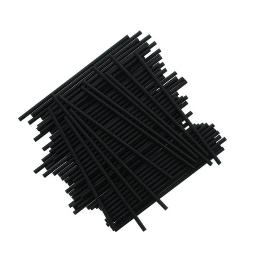 Patyczki do Lizaków Czarne 152 mm