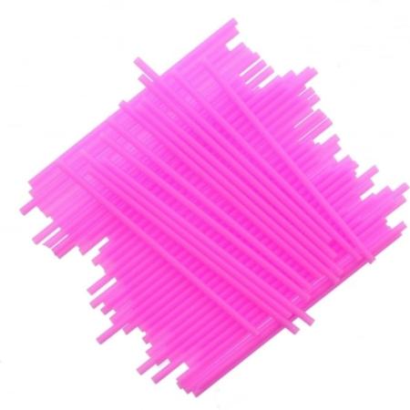 Patyczki do Lizaków Różowe 152 mm