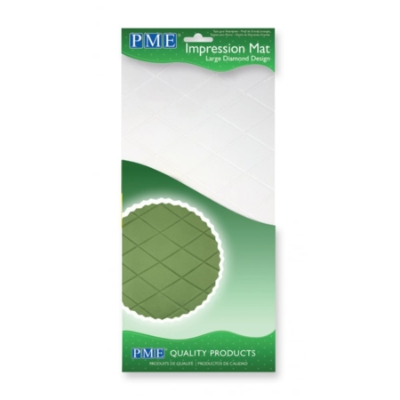 Strukturalna folia mata Diamenty Duże 305x150 mm - PME