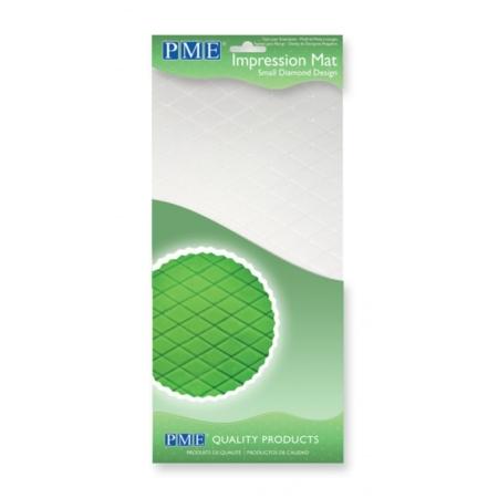 Strukturalna folia mata Diamenty Małe 305x150 mm - PME