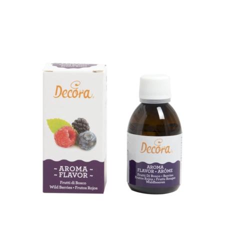 Aromat spożywczy w płynie Jagodowy 50 g - Decora