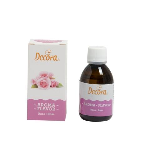 Aromat spożywczy w płynie Różany 50 g - Decora