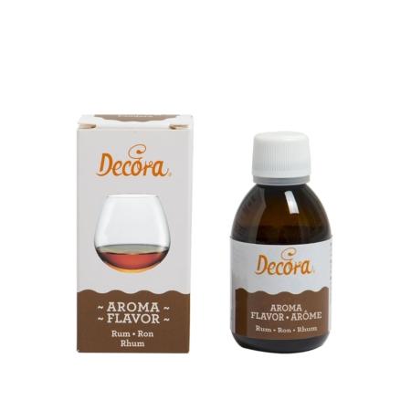 Aromat spożywczy w płynie Rumowy 50 g - Decora