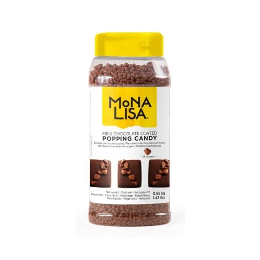 Posypka w mlecznej czekoladzie POPPING CANDY – 0,65 kg