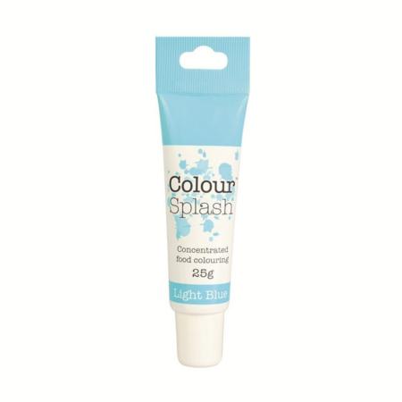 Barwnik spożywczy w żelu Colour Splash w tubce - Jasny Niebieski, Błękitny (25g)