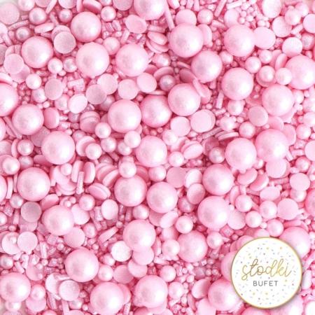 Cukrowa Posypka Simply Pink - 90 g - Słodki Bufet
