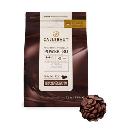 Czekolada deserowa Power 80 - Barry Callebaut - 2,5 kg
