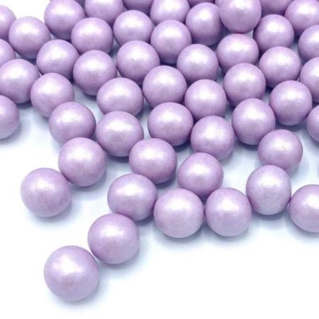 Cukrowa Posypka Perły Fioletowa Perłowa M - 90 g