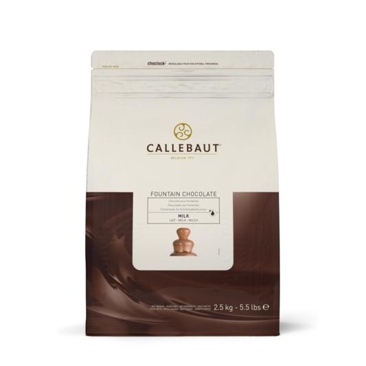 Czekolada mleczna do fontann - Barry Callebaut - 2,5 kg