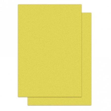 Papier waflowy A4 Żółty - 12 szt.