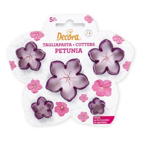 Wykrawaczka Petunia – zestaw 5 szt. - Decora