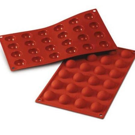 Forma silikonowa Półkule śr. 30 mm - Silikomart