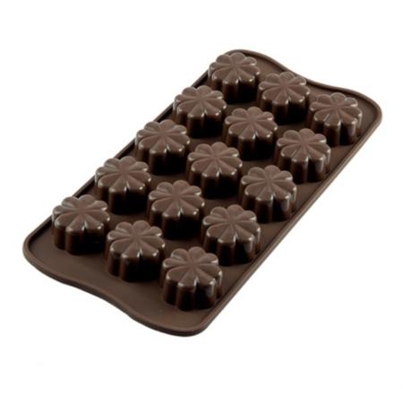 Forma silikonowa do czekoladek i pralin FLEURY Kwiaty - Silikomart
