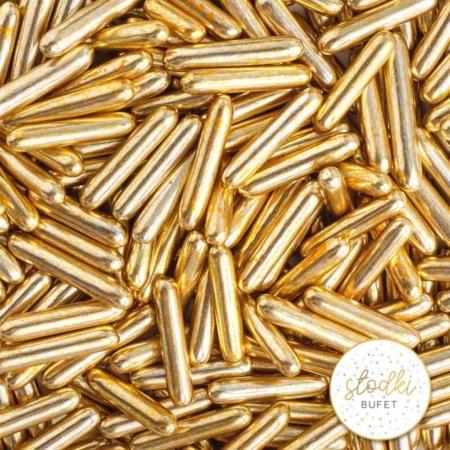 Cukrowa Posypka Pałeczki OLD GOLD MACARONI - 90 g